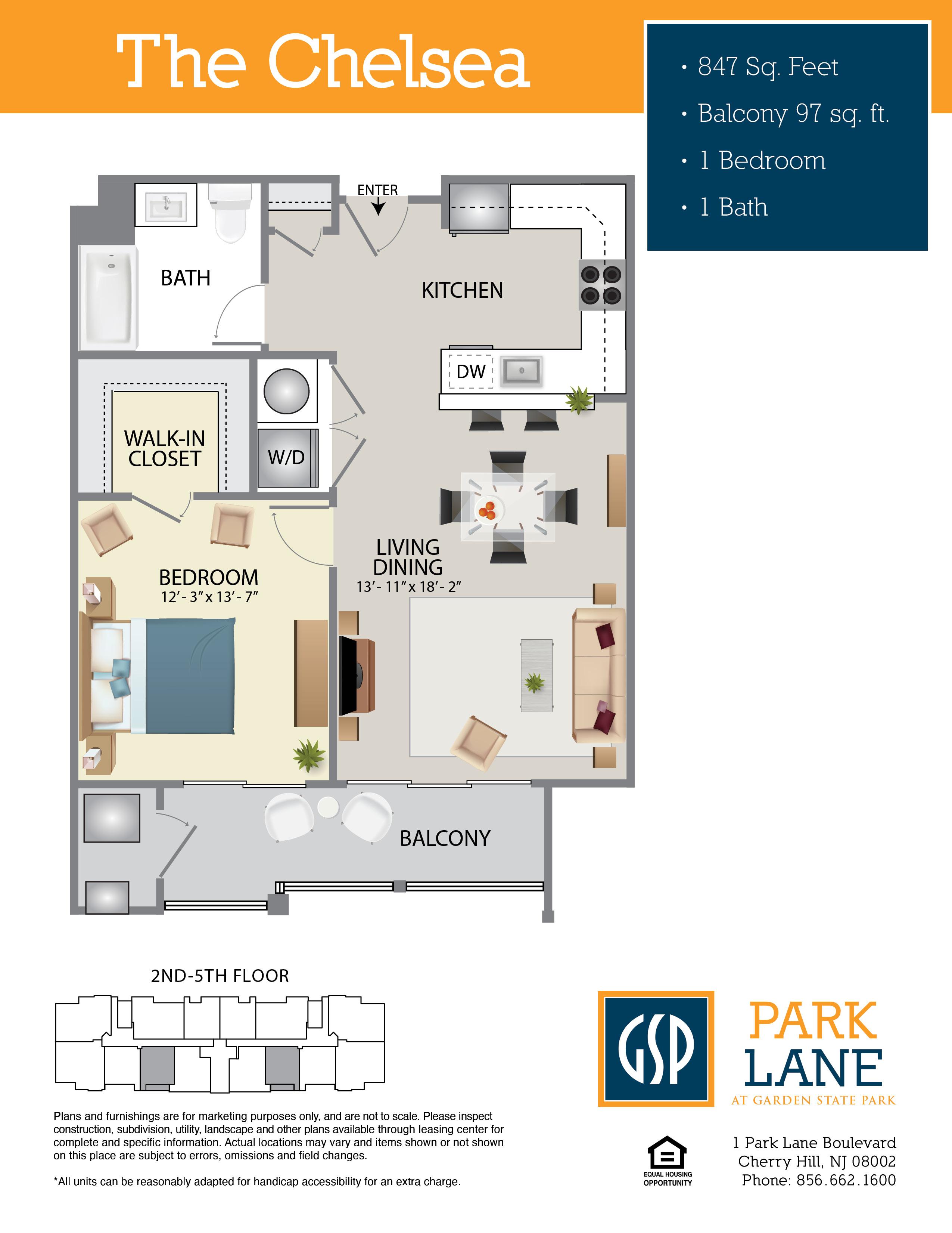Park Lane Floor Plan Chelsea