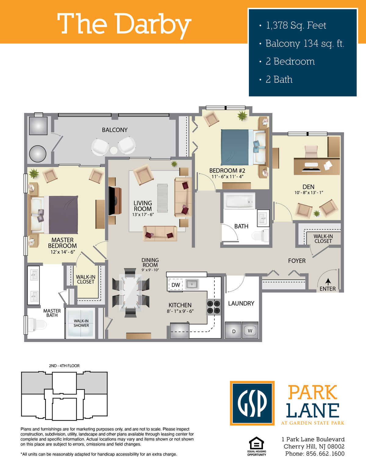 Park Lane Floor Plan Darby