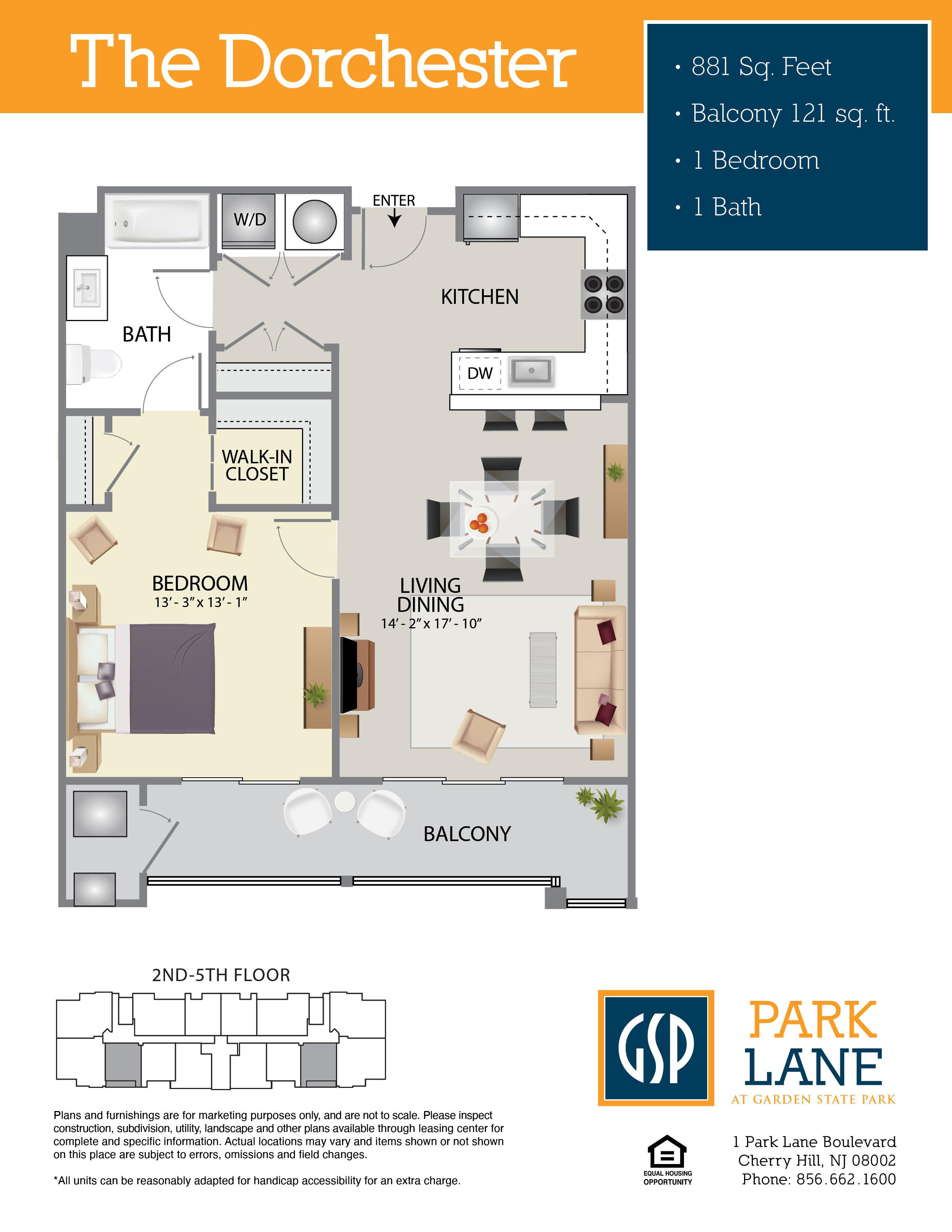 Park Lane Floor Plan Dorchester