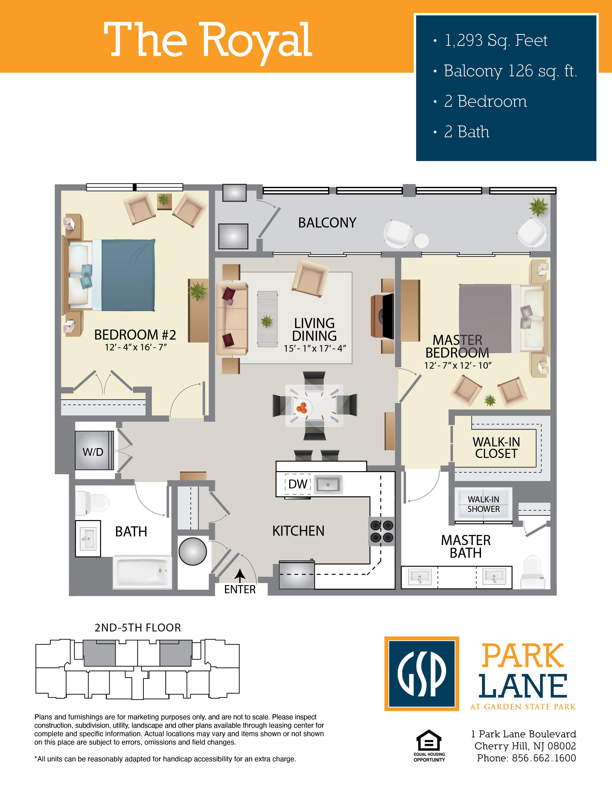 Park Lane Floor Plan Royal